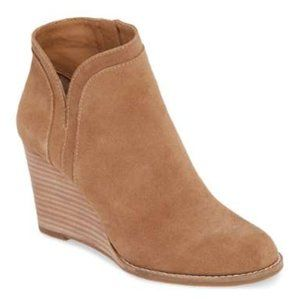 Lucky Brand Womens Wedge Ankle Bootie Waterproof